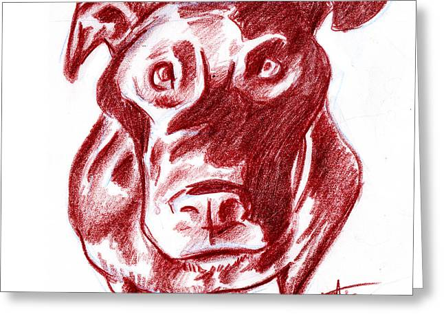 I Roate This Drawings Greeting Cards - Food Greeting Card by Big Mike Roate