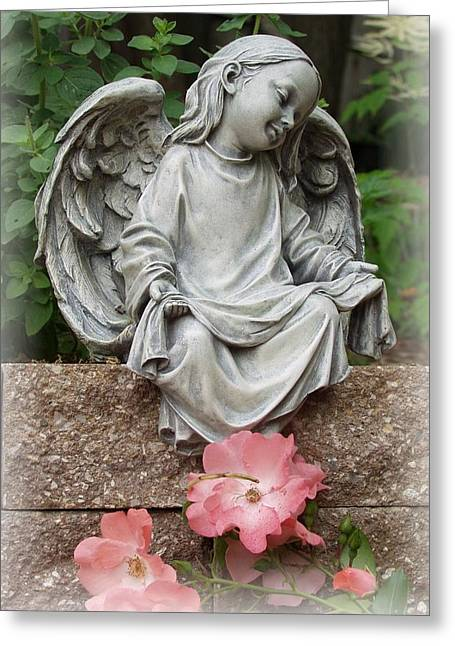Best Sellers -  - Garden Statuary Greeting Cards - For Hope Greeting Card by Carol Sweetwood