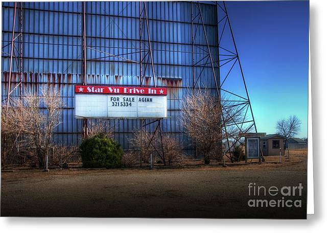 Recently Sold -  - Outdoor Theater Greeting Cards - For Sale Again Greeting Card by Fred Lassmann