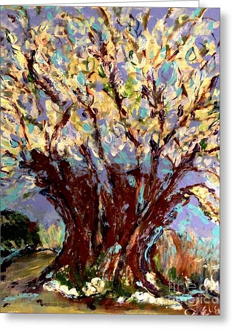 Fineart Pastels Greeting Cards - For The Future Greeting Card by Helena Bebirian