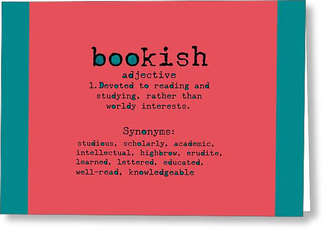 Bookish Greeting Cards - For the Love of Reading Greeting Card by Bonnie Bruno