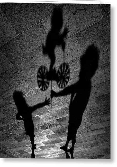 Shadows Greeting Cards - For You. Greeting Card by Antonio Grambone