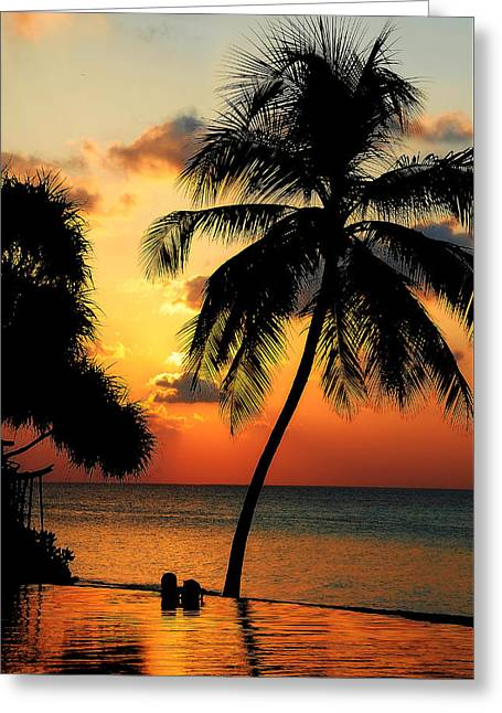 For You. Dream Comes True. Maldives Greeting Card by Jenny Rainbow