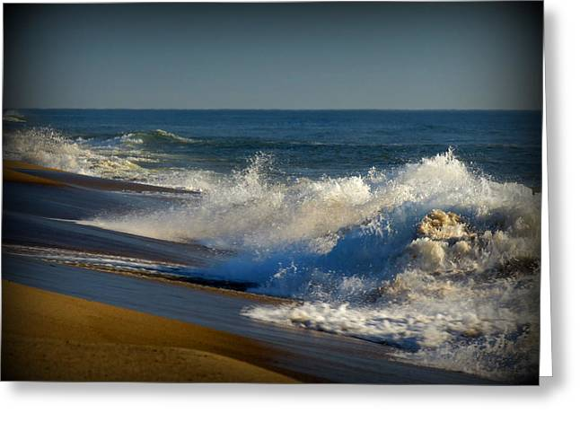 Ferocity Greeting Cards - Force and Energy Greeting Card by Dianne Cowen