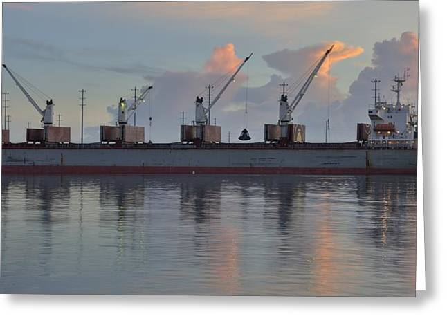 Grapple Greeting Cards - Force Ranger Loading at Dawn Greeting Card by Bradford Martin