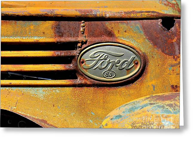 Paint Photograph Greeting Cards - Ford 85 Greeting Card by Perry Webster