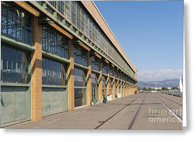 The Houses Greeting Cards - Ford Assembly Plant Rosie the Riveter WWII Home Front National Historical Park Richmond Ca DSC3727 Greeting Card by Wingsdomain Art and Photography
