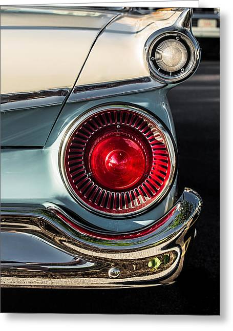 Prospects Greeting Cards - Ford Fairlane 500 Greeting Card by Lauri Novak