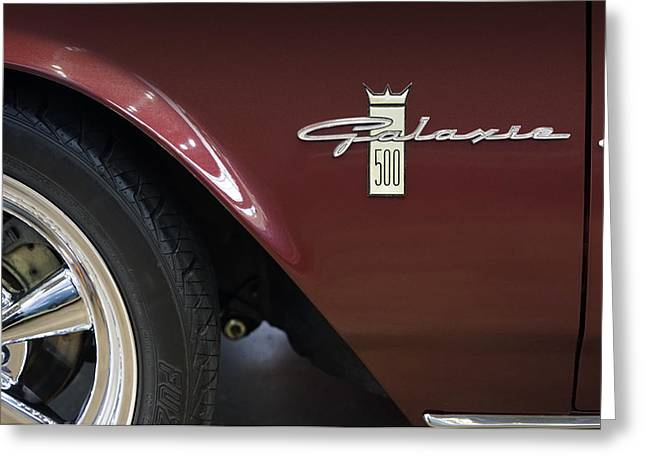 Ford Galaxie 500 Greeting Card by Mike McGlothlen