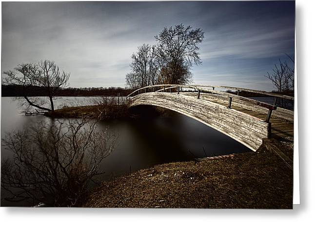 Surreal Landscape Greeting Cards - Ford Lake Long Exposure Greeting Card by Anthony Cornish