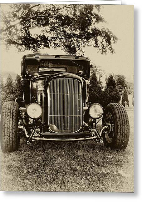 Ford Model A Greeting Cards - Ford Model A Greeting Card by Bill Cannon