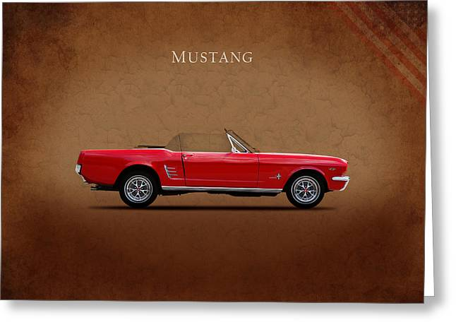 Ford Photographs Greeting Cards - Ford Mustang 289 Greeting Card by Mark Rogan