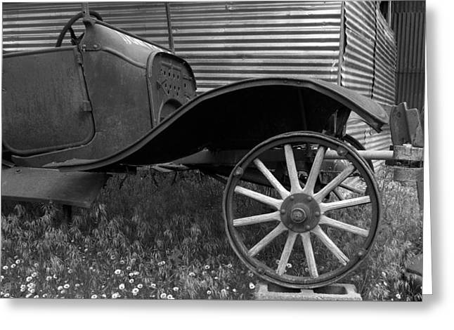 Ford Model T Car Greeting Cards - Ford T Greeting Card by Heniek