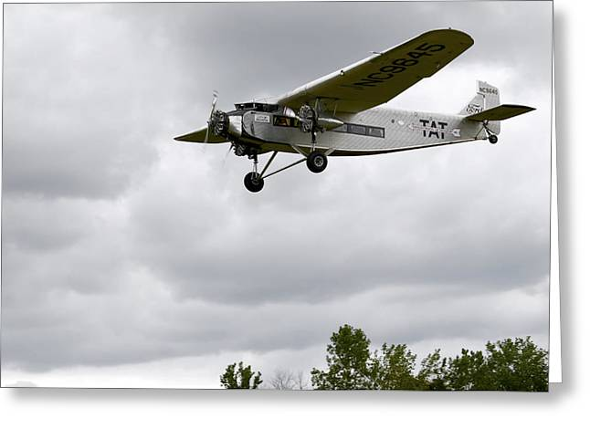Ford Trimotor Greeting Cards - Ford Tri Motor Greeting Card by Mark Kantner