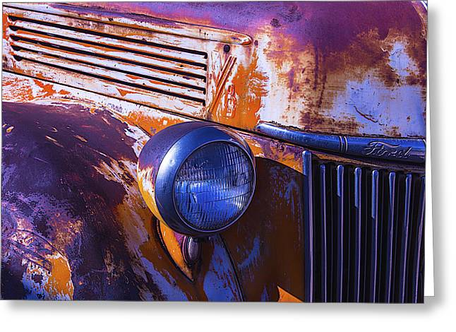 Pickup Truck Door Greeting Cards - Ford Truck Greeting Card by Garry Gay