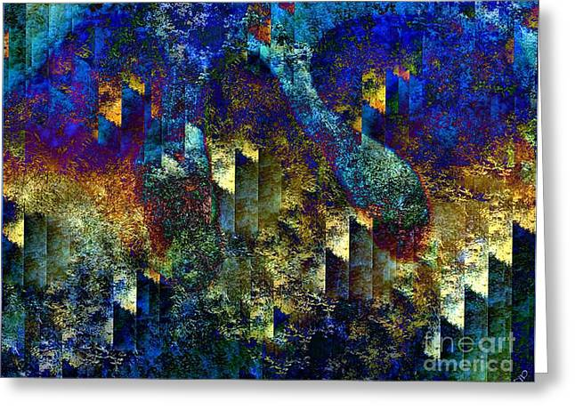 Forest Fire Greeting Cards - Forest Fire Greeting Card by Ron Bissett