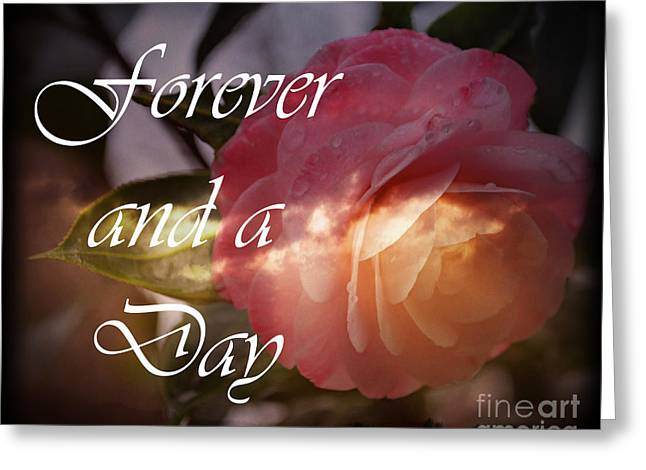 Forever And A Day Greeting Card by Eva Thomas