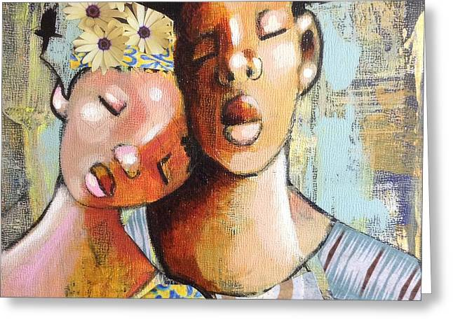 African-americans Greeting Cards - Forever Greeting Card by April Harrison