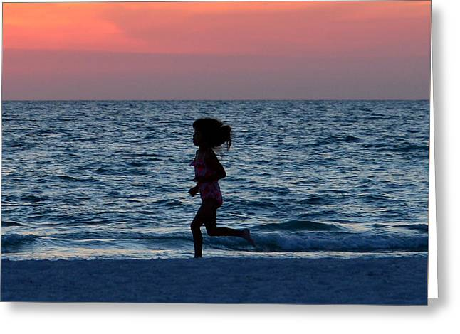 Beach Photography Greeting Cards - Forever young Greeting Card by David Lee Thompson