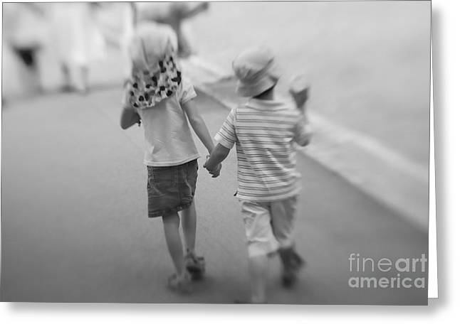 Forever Young Greeting Cards - Forever Young Greeting Card by Hans Janssen