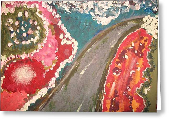 Forgiveness Greeting Cards - Forgiveness Road Greeting Card by Anne Costa