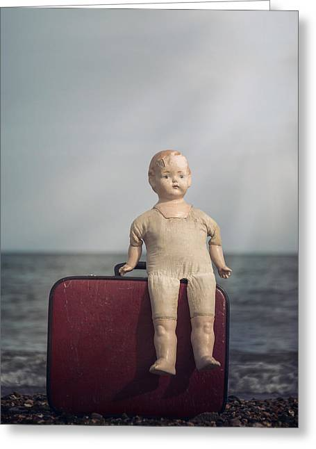 Doll Photographs Greeting Cards - Forgotten Childhood Greeting Card by Joana Kruse