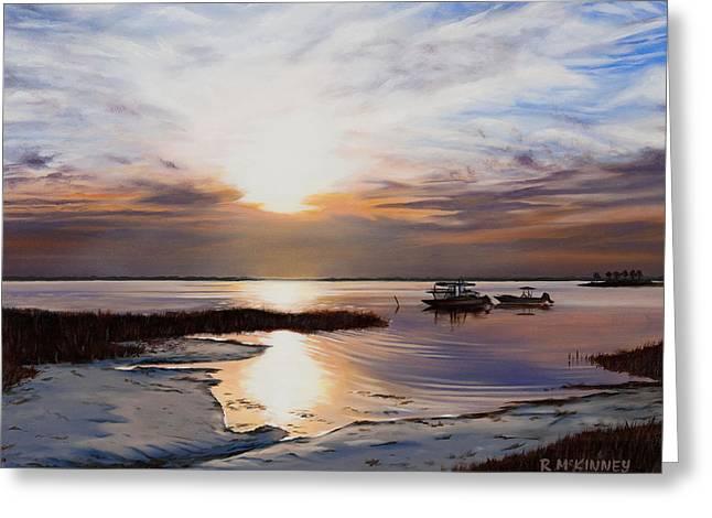 Rick Mckinney Greeting Cards - Forgotten Coast Greeting Card by Rick McKinney
