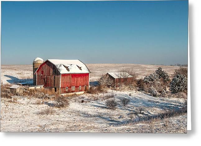Forgotten Farm Greeting Card by Todd Klassy