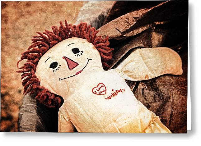 Ragdoll Greeting Cards - Forgotten Love Greeting Card by Caitlyn  Grasso