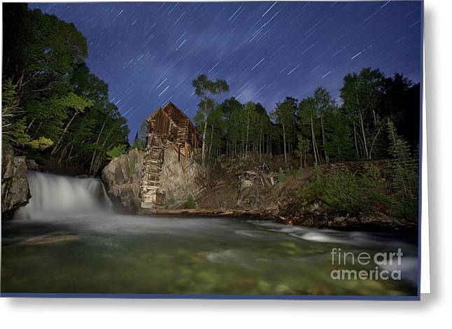 Forgotten Mill Greeting Card by Keith Kapple