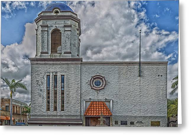 Historic Architecture Greeting Cards - Former City Hall - Brownsville Texas Greeting Card by Mountain Dreams