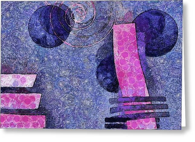 Formes - 18a Greeting Card by Variance Collections
