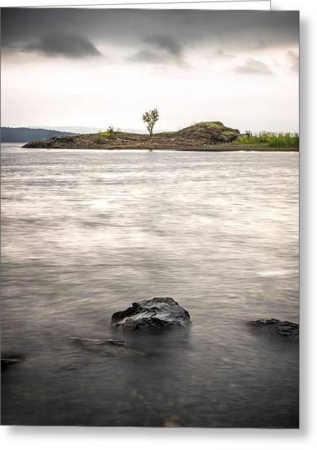 Fornebu - Oslo, Norway - Seascape Photography Greeting Card by Giuseppe Milo