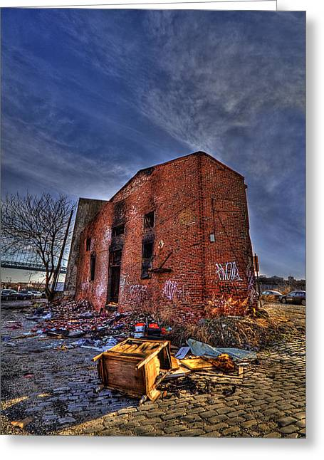 Abandoned Houses Greeting Cards - Forsaken Luxury Greeting Card by Evelina Kremsdorf