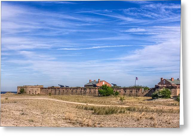 Confederacy Digital Art Greeting Cards - Fort Clinch National Monument Greeting Card by Rob Sellers
