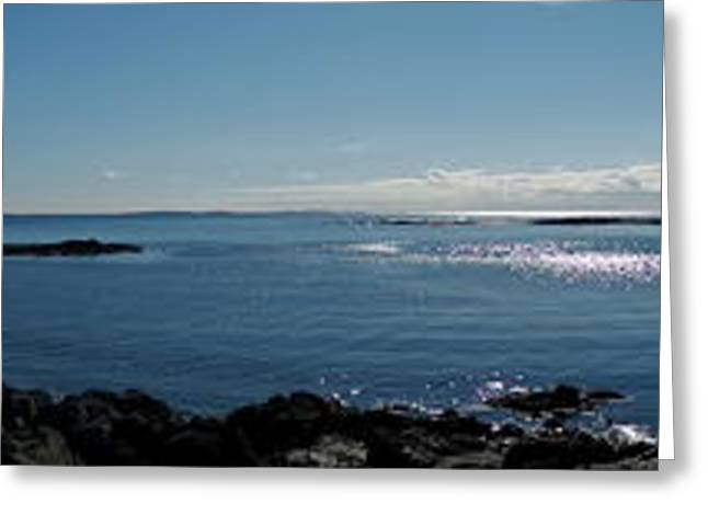 Maine Beach Greeting Cards - Fort Foster Maine Greeting Card by Marcia Lee Jones