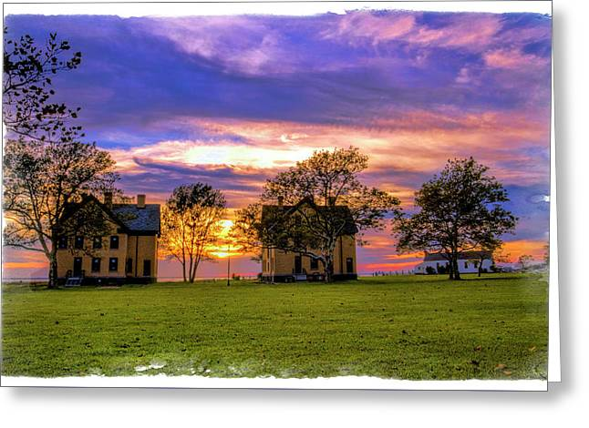 Fort Hancock Gentlemen Quarters Barracks Greeting Card by Geraldine Scull