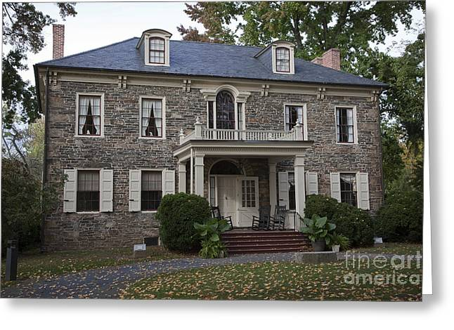 Stone House Greeting Cards - Fort Hunter Mansion Greeting Card by John Stephens