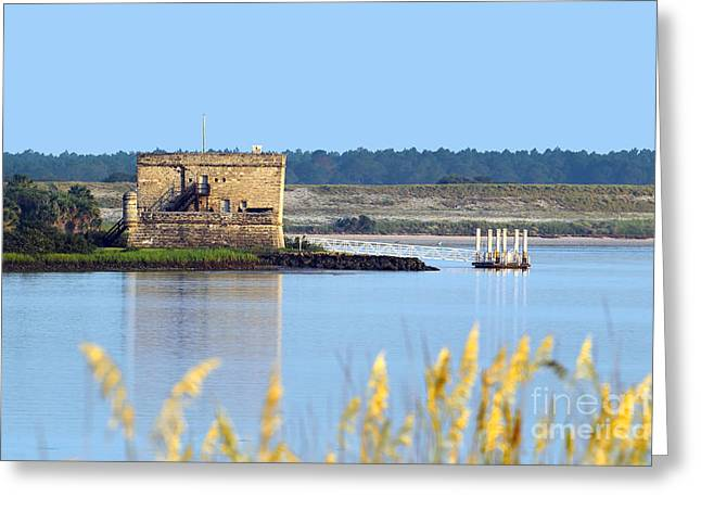 Matanzas Greeting Cards - Fort Matanzas Greeting Card by Rick Mann