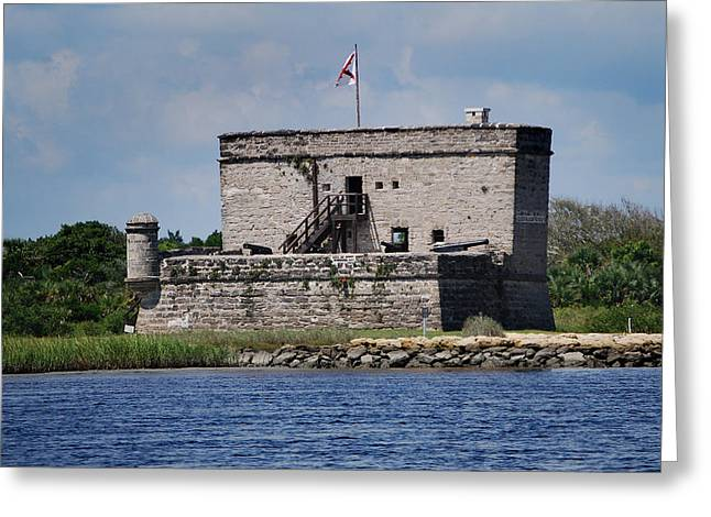 Matanzas Greeting Cards - Fort Matanzas Greeting Card by Skip Willits