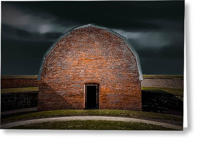 Michelle Greeting Cards - Fort McHenry 4 Greeting Card by Michelle Saraswati
