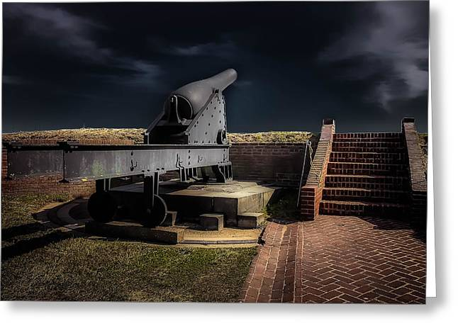 Michelle Greeting Cards - Fort McHenry 5 Greeting Card by Michelle Saraswati