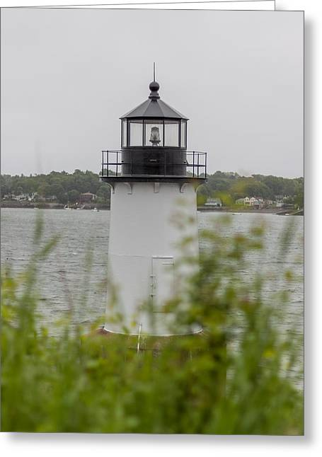 New England Ocean Greeting Cards - Fort Pickering Lighthouse Greeting Card by Brian MacLean