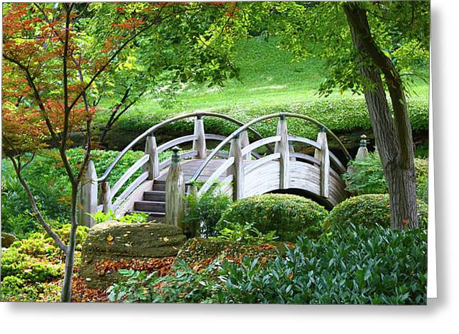 Fort Worth Botanic Garden Greeting Card by Joan Carroll
