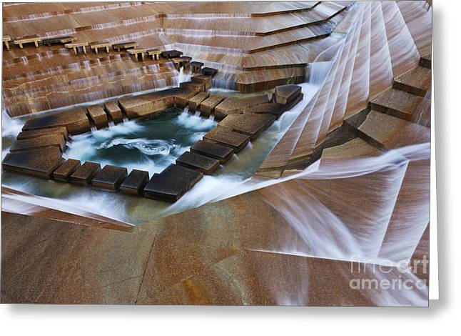 Water Garden Greeting Cards - Fort Worth Water Gardens Greeting Card by Jeremy Woodhouse