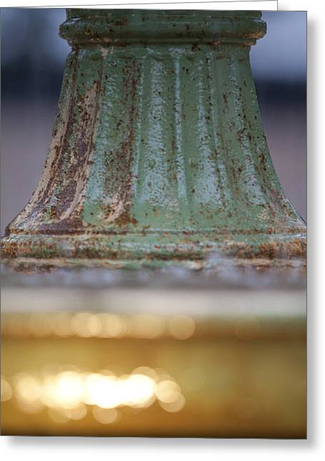 Depth Of Field Greeting Cards - Fountain II  Greeting Card by Dustin K Ryan