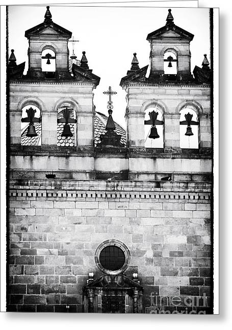 Four Bells In Bogota Greeting Card by John Rizzuto