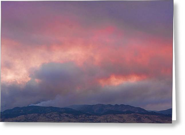Colorado Wildfires Greeting Cards - Fourmile Canyon Fire Image 90 Greeting Card by James BO  Insogna