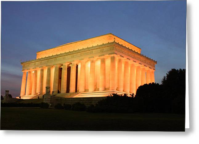 Washingtondc Greeting Cards - Fourscore and Seven Years Ago Greeting Card by Brian Governale