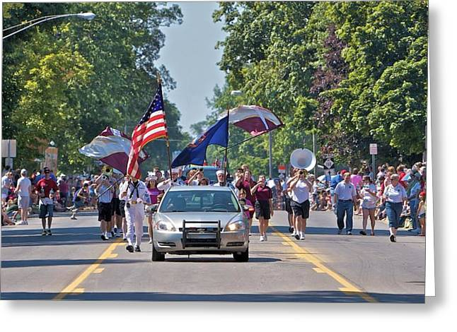 4th July Greeting Cards - Fourth of July Greeting Card by Paul Wegner